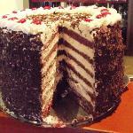 20cm Black Forest Cake