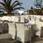 The drinks terrace