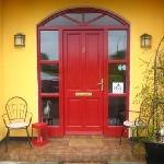 front door of the Abbeylee b&b