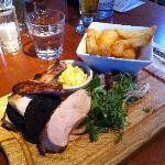 Roast Chicken & Fruit Pig Black Pudding Main