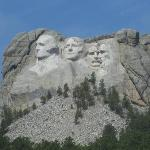 Approaching Mt. Rushmore
