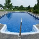 Quiet, private pool.