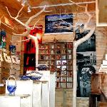 Over 130 fine craft artists on display inside.