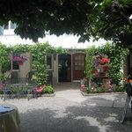Restaurant from alfresco area
