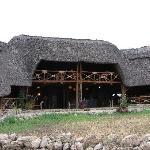 Reception, lounge, dining area
