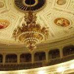 Kronleuchter in der Semperoper