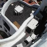 Una de las tantas terrazas de Casapueblo