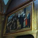 One of the paintings in the chapel