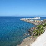 petit port au bout de la plage