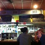the bar/counter at Kuba Kuba