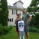 Lisa, John and son Liam