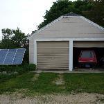 Solar panels fuel electric car