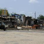 The Slum Across From the Hotel