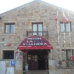 Fachada principal del hotel