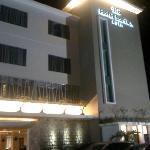 front hotel santika kuta bali...