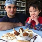 Reza, Meli owner and Siena