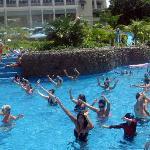 Water Aerobics! Fun (to watch!)