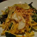 Spicy Mango and Scallop Salad