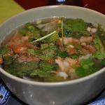 Tofu Vermicelli soup