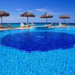 la piscine du coté ouest