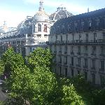 View of Le Printemps from our suite