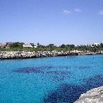 Bay near Cala Blanca