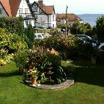the lovely quiet garden