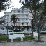 Hotel from the promenade (overlooking beach)