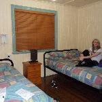 The room we stayed in...
