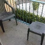 dirty patio furniture
