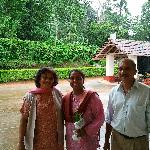 Me with Mrs & Mr Cariappa