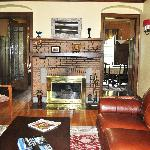 Park Place Bed and Breakfast  Main Fireplace