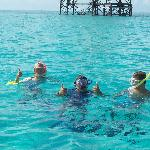 Snorkeling near Alligator Reef Lighthouse, just a few miles out from The Sands.