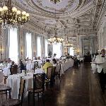 Breakfast in the grand ballroom
