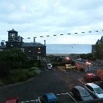 The seaview from our room