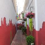 Charming Alley Leading to Casa de Luna!