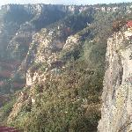 Vista del hotel desde cas de tarahumara