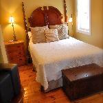 Clean, comfortable Suites.