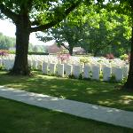 The Strand Cemetry Ploegreest Belgium