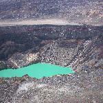 Lagoon in Santa Ana volcano's crater