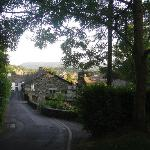 View from the top of Nook Lane
