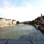 Lyon, vue du pont du passage St-Vincent