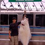 Where else can you catch halibut this size?