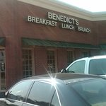 In Front of Benedict's in Plano TX
