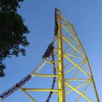 Top thrill roller coaster