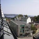 View from top-floor room