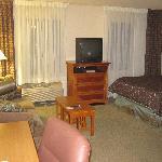 Bedroom in my One Bedroom Suite
