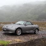 MG at the end of the road to nowhere