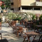 Outdoor Breakfast Area (also inside)