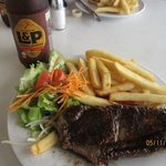 Delicious steak and fries for US$11